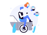 Trunow - Refer a Friends Illustration