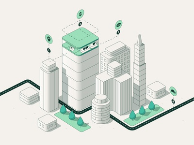WeWork - Main Illustration