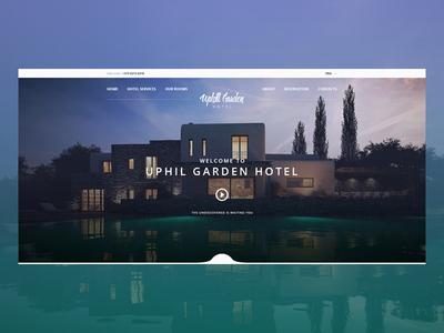 Hotel Webdesign Concept