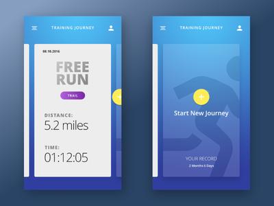 Special Running App