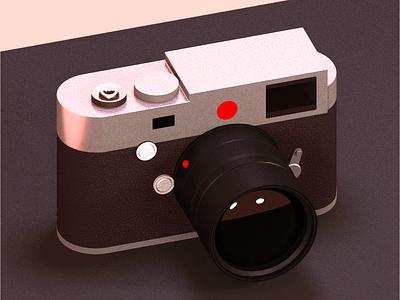 My first 3D   Leica-like camera. blender 3d model illusrtation 3d art 3d