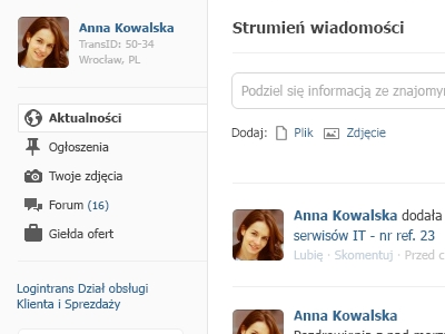 activity stream stream activity social profile feed
