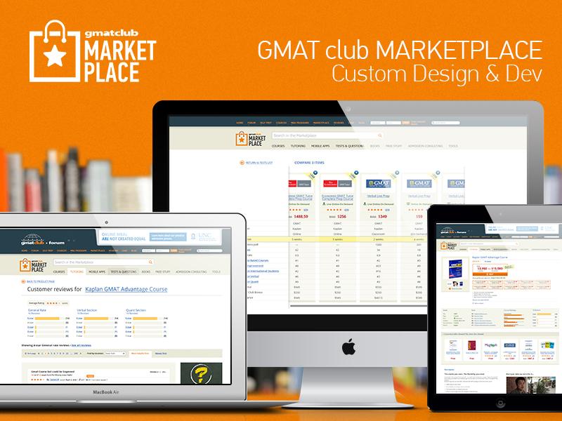 GMAT club MARKETPLACE: Custom Design & Dev by Roman Cheryba