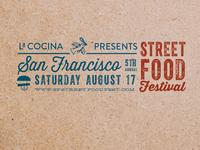 San Francisco Street Food Festival Banner