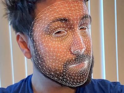 Nike - face as a cursor swiftui app ios ui ux