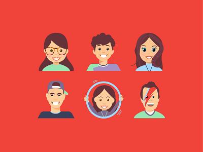 Faces in Places design emoji