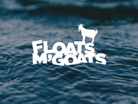 Floats M' Goats Logo
