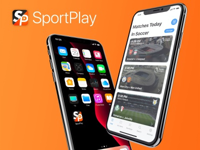 SportPlay Initial Concept football soccer sports app ios human interface apple human interface guidelines ux ui