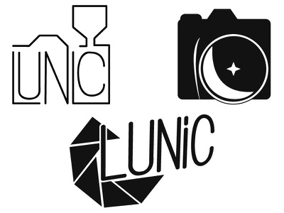 Photography Logo shutter photographer photo moon logo photography camera