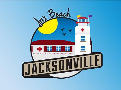 Jacksonville Areas - Jax Beach beach badge city florida jax beach cities jacksonville