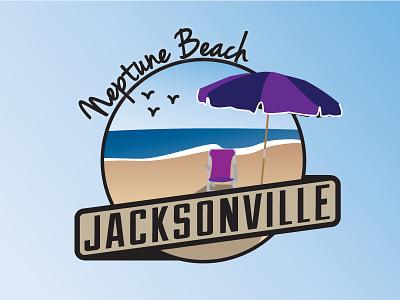 Jacksonville Areas - Neptune Beach jacksonville cities neptune beach florida city badge beach