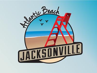 Jacksonville Areas - Atlantic Beach jacksonville cities atlantic beach florida city badge beach