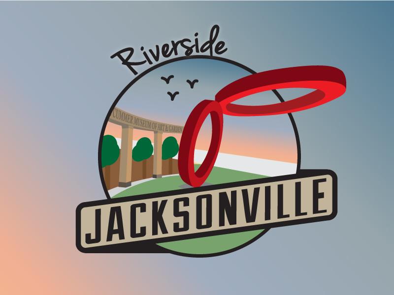 Jacksonville Areas - Riverside jacksonville cities riverside florida city badge beach