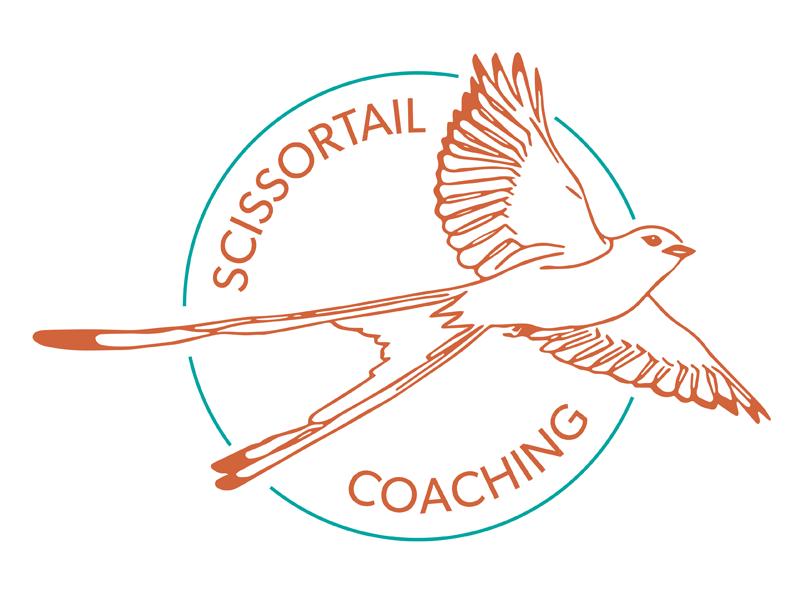 Scissortail Coaching logo by Kim Egner on Dribbble