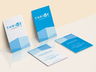 Thrive business cards