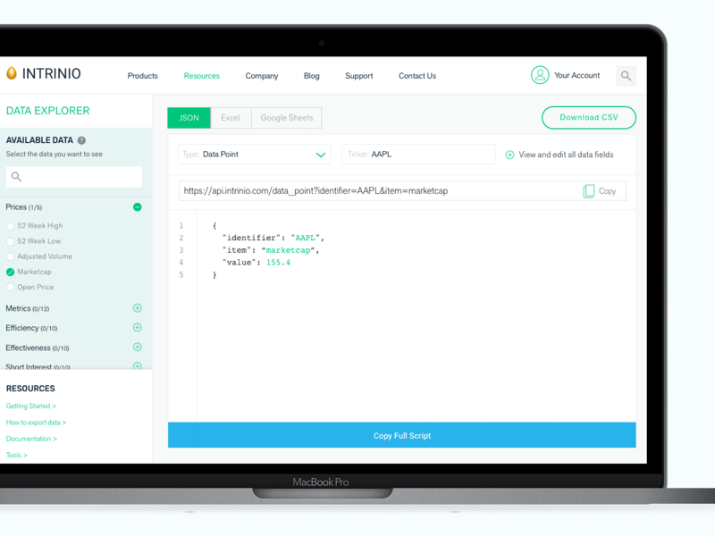 API export tool by Rebecca on Dribbble