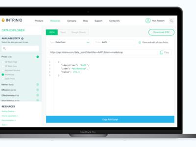 API export tool