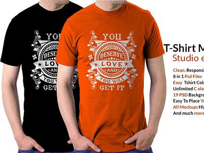 T-shirt Mockup Template vector illustration design app branding logo ui motion graphics graphic design 3d animation t-shirt mockup template