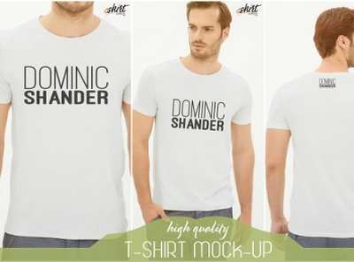 T-shirt Mockup Template vector illustration design branding logo motion graphics graphic design 3d animation ui t-shirt mockup template