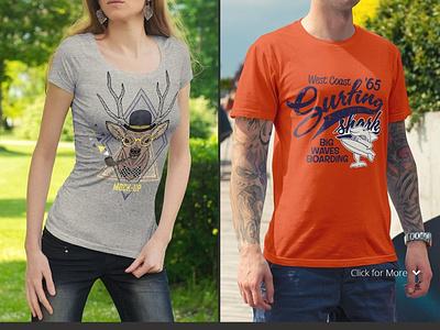 T-shirt Mockup Template branding logo ui motion graphics graphic design 3d animation t-shirt mockup template