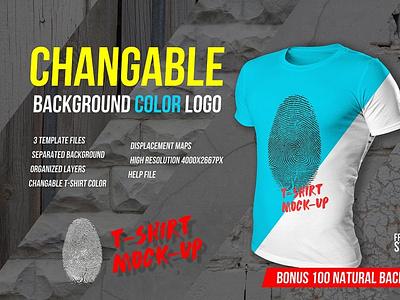 T-shirt Mockup Template logo ui motion graphics graphic design 3d animation t-shirt mockup template