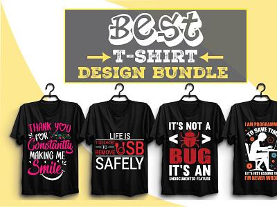 Best T-Shirt Design Bundle Vol-6 vector illustration design motion graphics branding ui logo graphic design animation 3d