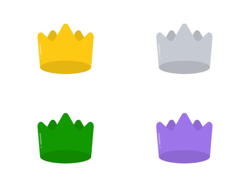 Crowns crowns crown vector ui figmadesign figma