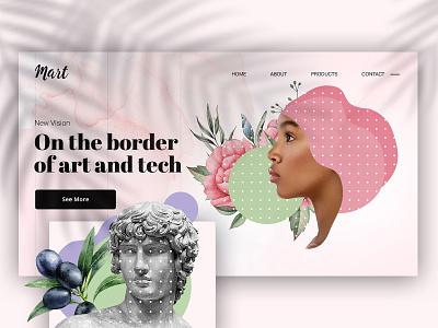 Key Visual Idea key visual web keyvisual illustration branding webdesign website