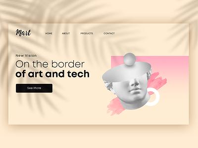 Key Visual Idea Alternative graphic design branding illustration webdesign website key visual