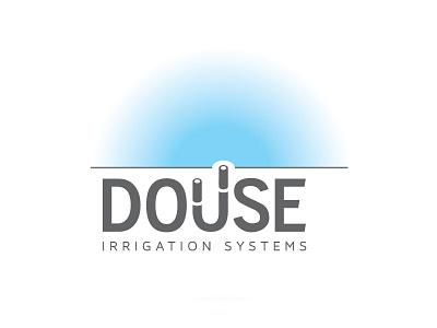 Douse Irrigation logo concept
