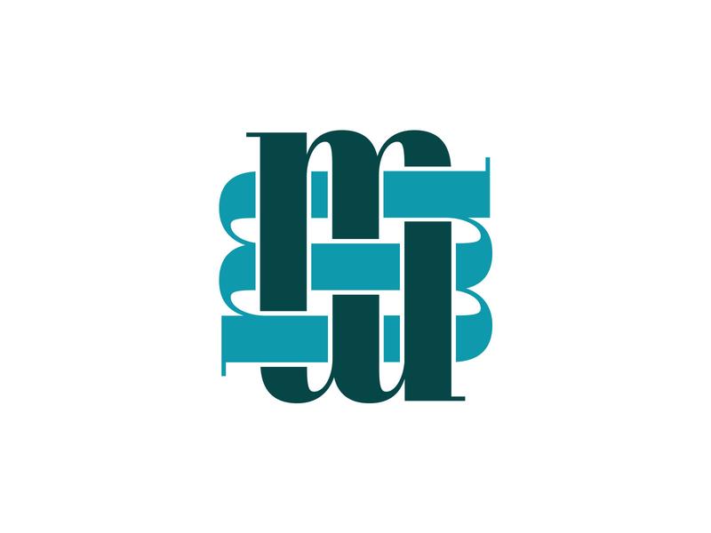 MM Monogram mark icon pattern m monogram logo