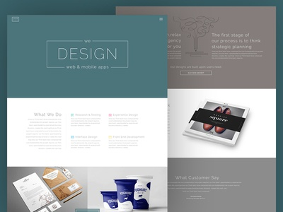 UIUX Studio - Homepage Design for Theme-forest