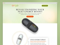 Ongo Energy - Landing Page Redesign
