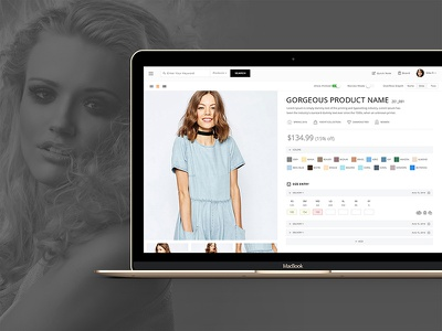 Repspark Ignite web application. user interface user experience usability testing fashion dashboard b2b