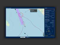 Navigation tool for container ships