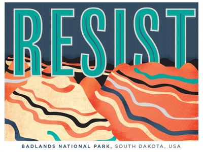 Badlands Resist