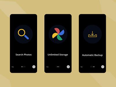 I have designed splash screen for mobile Do Give Your Feedback! figma photos google app ux ui design