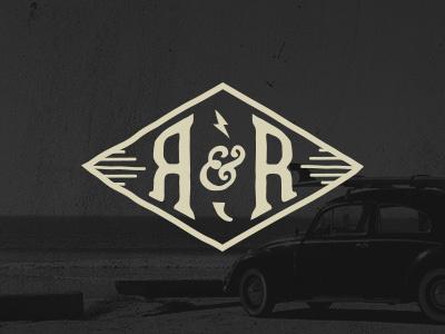 Repair & Restore logo hand drawn surf repair car