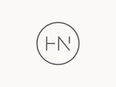 HN circle hn monogram logo