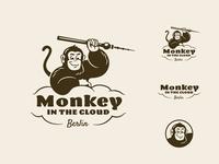 Monkey In the Cloud Logo + Pattern