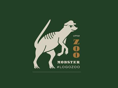 Mobby Meerkat V2 illustration logo animal logo monster peaky blinders meerkat