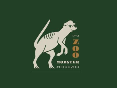 Mobby Meerkat V2 illustration logo animal logo monster peaky blinders meerkat