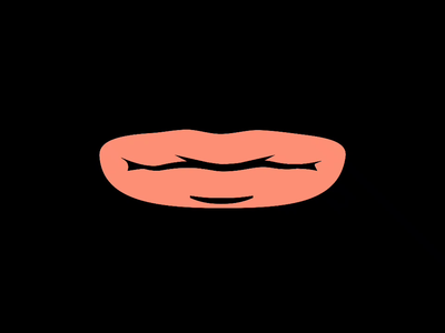 Mask Design Idea Animated illustration talk cycle eye mouth 2d animation animation frame by frame
