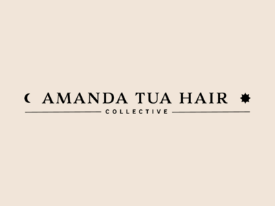 ATHC Detail 4 hairstylist hair sun moon logo wordmark