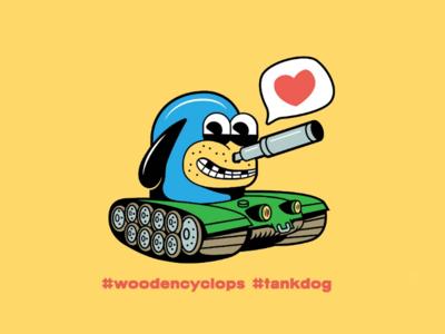 Tankdog Fanart draw in your style illustration fanart tankdog