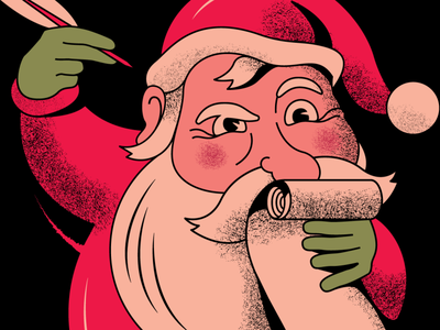 Santa's List textures christmas santa