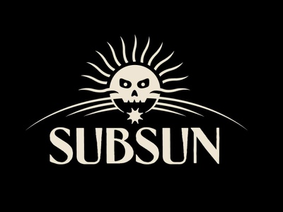 Subsun logo concept 2 concept vector branding artwork typography design logo illustration