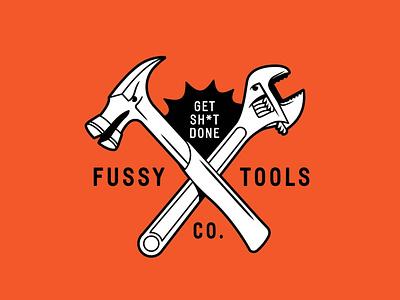 Fussy Tools illustration branding concept doodle artwork vector ux ui design drawing