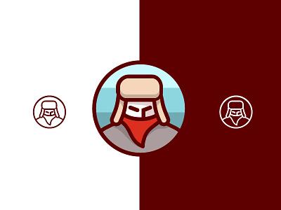 Cold Gear Logo bandito hat cold illustration logo