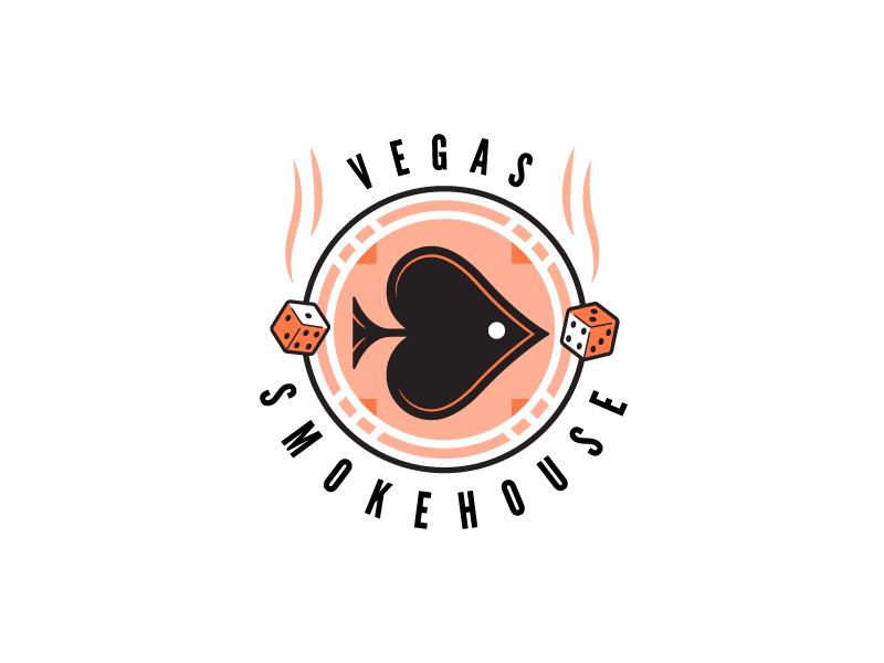 Vegas Smokehouse .2 smokehouse smoke dice vegas fish logo smoked salmon